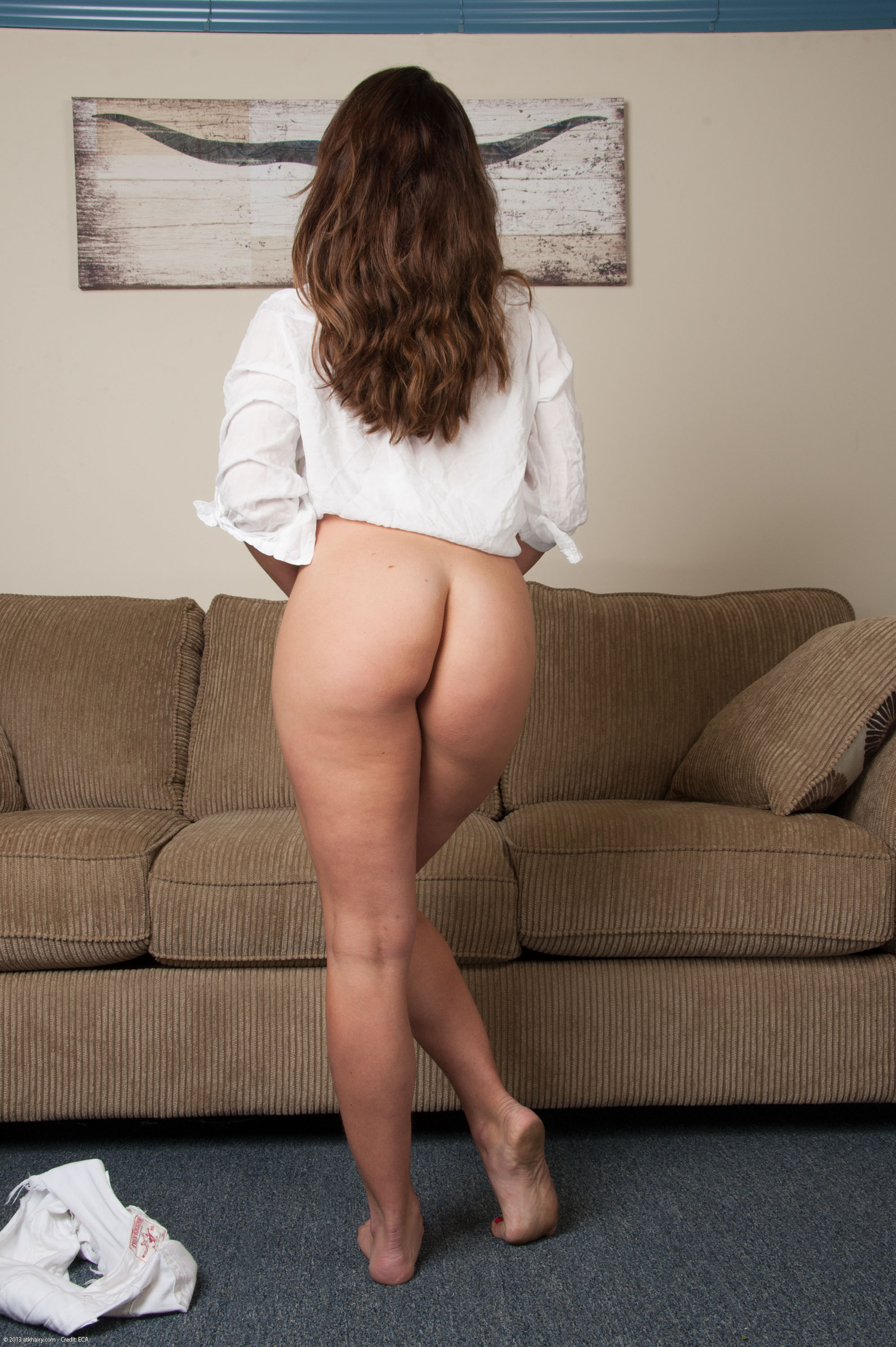 Nude woman unshaved ass — pic 14
